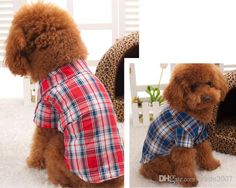 Hot Pet Supplies Dog Clothes Classic Plaid Shirt Pet Dog Pet Clothes Dog Clothes Spring And Summer Clothes Foreign Trade CA019 from Wade2007,$29.53 | DHgate.com
