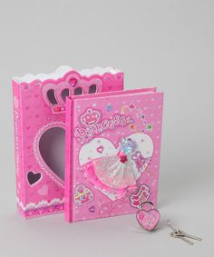 Take a look at this Hot Focus 'Princess' Diary & Lock Box Set by Hot Focus on #zulily today!