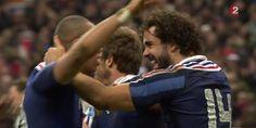 Autre homme du match: Gaël Fickou qui inscrit l'essai de la 77e minute permettant à l'équipe de France de remonter au score et de gagner le match 26 à 24 grâce à la transformation réussie de Maxime Machenaud.