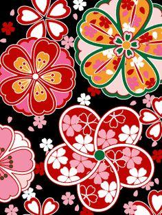 粋屋-日本の伝統文様と伝統色 和柄無料携帯待受け一覧 : 随時更新【和紋様の図鑑】華麗な着物の柄と図案を纏めました - NAVER まとめ