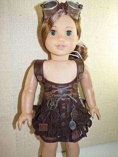 American Girl Doll goes Steampunk.