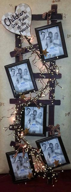Cool DIY Home Decor Picture Frames www. - 17 Cool DIY Home Decor Picture Frames www.futuristarchi… Cool DIY Home Decor Picture Frames www. - 17 Cool DIY Home Decor Picture Frames www. Primitive Crafts, Country Primitive, Wood Crafts, Diy And Crafts, Primitive Homes, Diy Wood, Country Crafts, Country Decor, Prim Decor