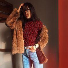 28 Best Perfect fur coat images | Fashion, Coat, Street style