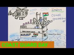 Indian Coast Guard Day 2021 Drawing | Easy Drawing of Coast Guard Day | Learn Drawing Step by Step - YouTube Learn Drawing, Step By Step Drawing, Learn To Draw, Indian Coast Guard, Drawing Competition, Search And Rescue, Law Enforcement, Easy Drawings, Learning