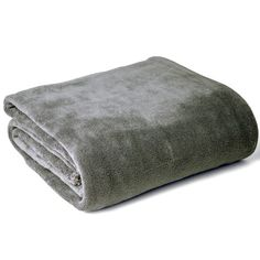 ARIANNA Coral Fleece Blanket (Grey)