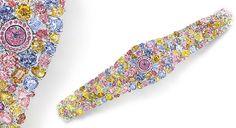 O relógio feminino mais valioso do mundo #relogio #luxo #luxury #diamantes #glamour