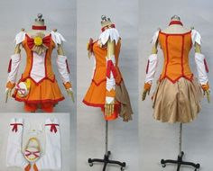 Smile Precure Akane Hino Cure Sunny Cosplay Costume Custom Any Size | eBay