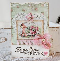 I have a new card making hero to add to my list!  Tammy Roberts!  This card is just beautiful!