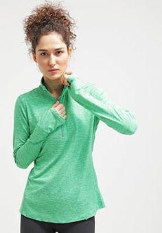 Nike Performance ELEMENT - Topper langermet - spring leaf heather/reflective silver - Zalando.no 530,-