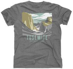 The Landmark Project Yosemite National Park T-Shirt