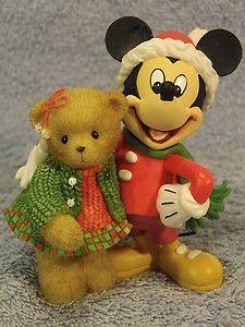 Mickey Madalyn SIGNED #4009185 BNIB Cherished Teddies