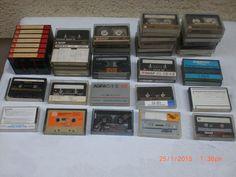 47 Audiocassetten,bespielt,verschiedene Marken und Längen