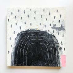 Arches no.6  Oil on wood Sarah Golden