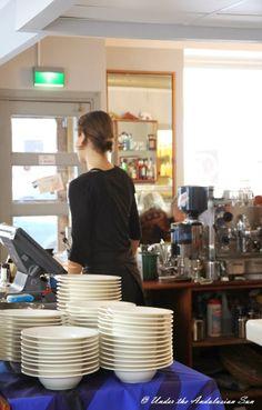 Brunching at restaurant Qulma in Helsinki