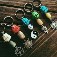 these beautiful key rings. - Marble Crafting Inc.