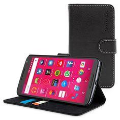http://ift.tt/1RrNs0z Snugg Google Nexus 6 Leder Hülle (Schwarz)  Flip Case mit lebenslanger Garantie  Kartenfächern & Standfunktion ! salesviiko@