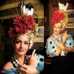 Carmen Miranda Costume - Halloween Costume Contest via @costumeworks