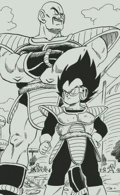 Dear god Vegeta is short.