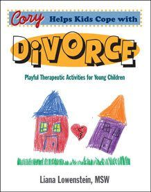 Divorce Counseling Activity Book - Cory Helps Kids with Divorce