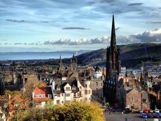 https://flic.kr/p/dtfmwu | View from Edinburgh Castle, Ramsay Garden, The Hub, St Giles Cathedral [Explored] | Explored 14th November 2012  Ramsay Garden is a block of sixteen private apartment buildings in the Castlehill area of Edinburgh, Scotland.