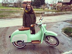 Simsonfan Johanna stellt Schwalbi vor :) #simson #schwalbe #akf