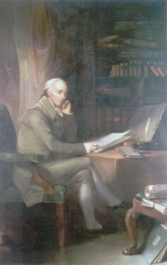 Dr. Benjamin Rush, lead doctor in Philadelphia during the epidemic and advocate for bleeding yellow fever victims    (Pennsylvania Hospital History: Historical Image Gallery - Benjamin Rush Portrait by Thomas Sully. http://www.uphs.upenn.edu/paharc/collections/gallery/artwork/Rush.html#)