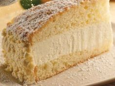 Copy cat recipe of Olive Garden's Lemon Cream Cake.  Oh. GOODNESS. I probably shouldn't have found this...
