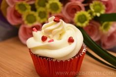 Cream Cheese Frosting - Mozi's menu