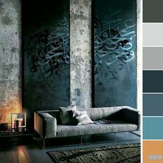 LIVING DIVANI: Industrial - Contemporary Designers Furniture - Architecture and Interior Design - Trends 2020 Interior Exterior, Home Interior Design, Interior Architecture, Interior Decorating, Interior Walls, Exterior Houses, Industrial Architecture, Minimalist Architecture, Interior Colors