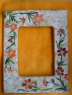 cam mosaıc çerçeve Mosaic Tray, Mosaic Tile Art, Mirror Mosaic, Mosaic Crafts, Mosaic Glass, Free Mosaic Patterns, Stained Glass Patterns, Mosaic Furniture, Mosaic Crosses