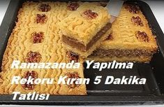 5 Minute Dessert in Ramadan - Best Hobby - Eat Recipes Ramadan, Turkish Recipes, Ethnic Recipes, Arabic Food, Cake Recipes, Food And Drink, Cooking Recipes, Yummy Food, Sweets