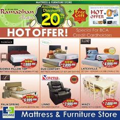 Home Solution: Hot Offer Additional Discount 20% + Free Gift (BCA) @homsolution