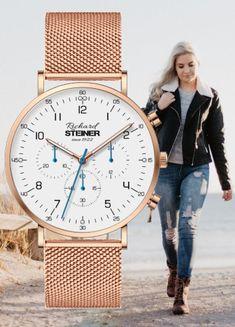 Richard Steiner Generation One Simple Rose, Designer Watches, Watches For Men, Stuff To Do, Shop Now, Essentials, Elegant, Women, Accessories
