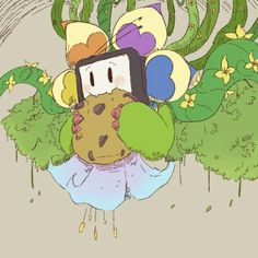 Alpha Flowey by petite-pumpkin // http://petite-pumpkin.tumblr.com/post/144721371482/thats-ok-if-you-dont-like-humanitations-i
