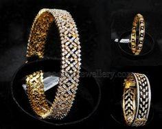 Diamond Bangles from Malabargold | Jewellery Designs