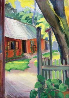 Flower Court, 1924: Géza Bornemisza Paintings, Flowers, Art, Landscape, Kunst, Art Background, Paint, Painting Art, Performing Arts