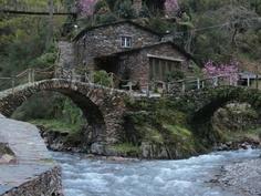 A aldeia de Foz d'Égua pertence à freguesia do Piódão, na Serra do Açor - PORTUGAL