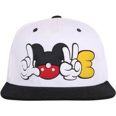 ililily LOVE Cartoon Rubber Logo New Era Style Snapback Trucker Hat... ($19) ❤ liked on Polyvore