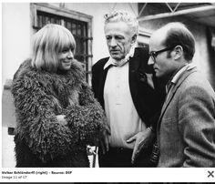 Anita Pallenberg, Nicholas Ray and Volker Sclondorff