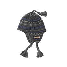 Kids Columbia White Pine Flap Hat, Girl's, Grey (Charcoal)