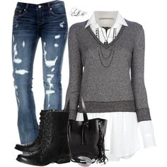 """""""Street Style"""" by tmlstyle on Polyvore"""