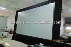 fast foldable projector screen/fast Fold Screen/large Outdoor Projection Screens