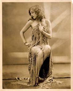 Lina Frost - Zeigfeld Follies Dancer. Circa 1927.