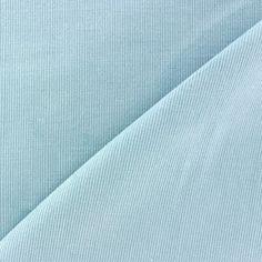 Tissu velours milleraies 200gr/mlbleu ciel  x10cm