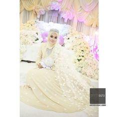 ♥ Malay Wedding Dress, Wedding Dresses, Muslimah Wedding, Akad Nikah, Hijab Bride, Wedding Pictures, Lace, Style, Fashion