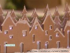 шаблоны домов и деревьев