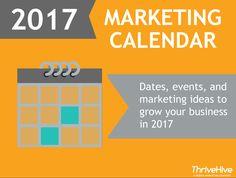 2017 Marketing Calendar | ThriveHive