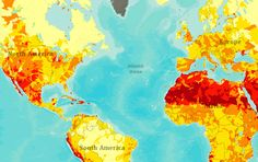 This links to Aqueduct, a website that provides maps of world-wide water risks. And here's an article about the maps from Co.Exist: http://www.fastcoexist.com/mba/1681298/an-incredibly-detailed-map-shows-the-potential-of-global-water-risks