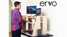 A revolutionary sit-to-stand desk, beautifully designed to be the most customizable and affordable sit-to-stand desk in the market.
