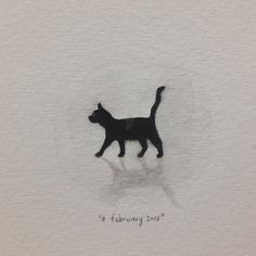 Day 39 : Black Cat. Good omen.